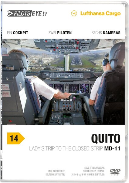 Quito Lufthansa Cargo MD11F: Lady's Trip to the closed Strip  QUITO-DVD