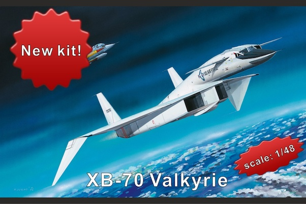 North American XBoeing 70 Valkyrie (SMALL RESTOCK)  HPH48039L