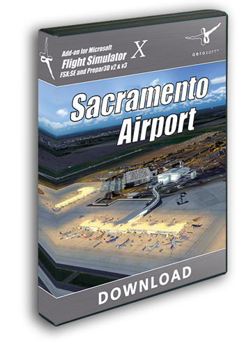 Sacramento Airport (download version)  13760-D