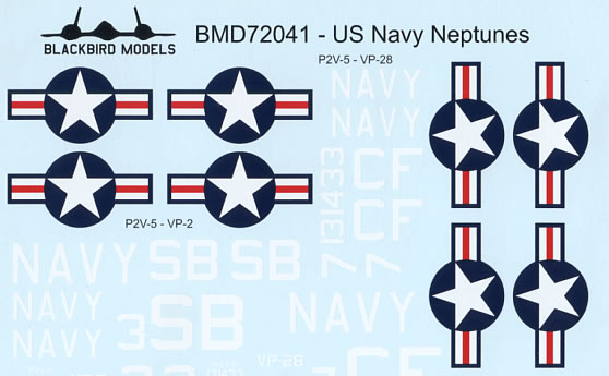 US Navy Neptunes (P2V5) of VP2 and VP28  BMD72041