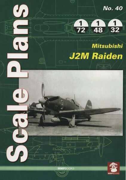 Scale Plans: Mitsubishi J2M Raiden (Jack)  9788365281692