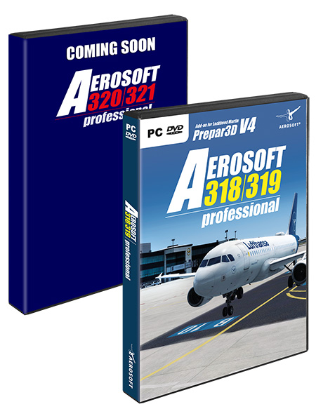 Aerosoft A320 Family professional Bundle (download version)  AS14397