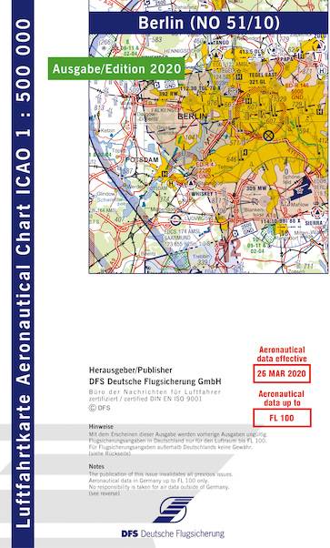 ICAO chart Germany Berlin 2020  51-10