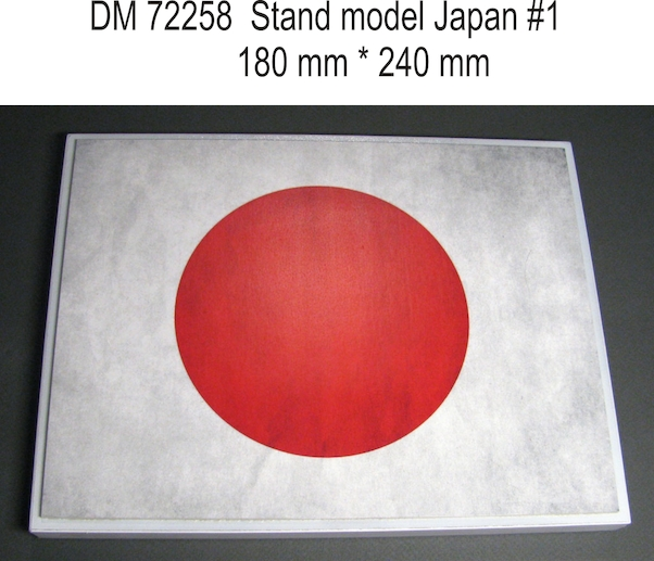 Stand model Japan #1 180mm x 240mm  DM72258