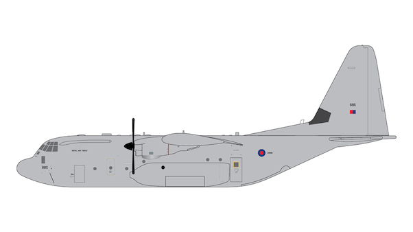 Hercules C130J (RAF, Royal Air Force) ZH886  G2RAF713