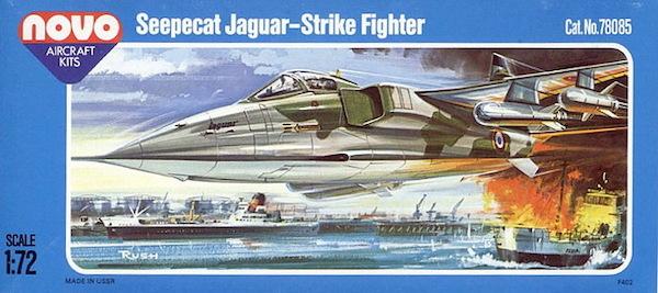 Sepecat Jaguar A2/T2 tactical support Trainer (Novo F402)