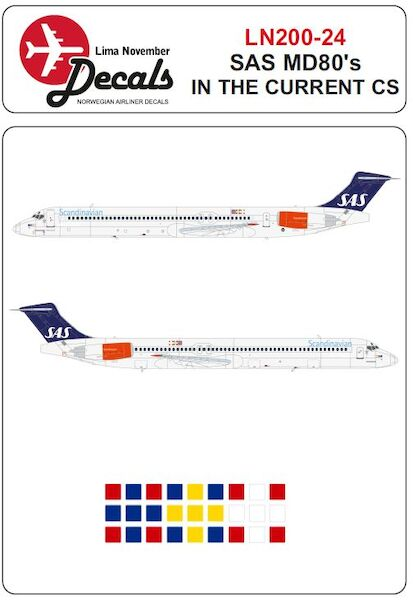 Mc Donnell Douglas MD81/82/83 (SAS in the current scheme)  LN200-024