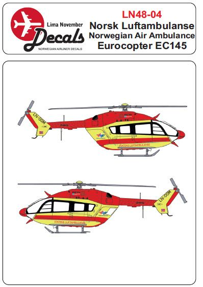 Eurocopter EC145 (Norwegian Air Ambulance)  LN48-04