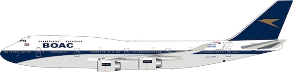 B747-400 (BOAC / British Airways