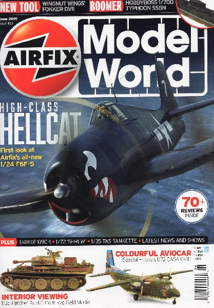 Airfix Model World Issue 103 June 2019  002907486666406