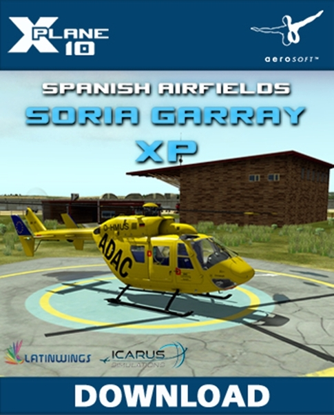 Spanish Airfields: Soria Garray XP (Download Version for Xplane10)  13960-D