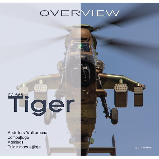 EC665 Tiger: Modellers Guide and Walkaround , Camouflage Markings  9782957324804