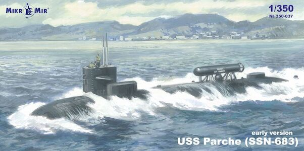 USS Parche SSN-683 (Early version)  350-037