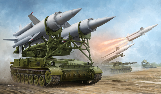 Soviet 2K11A TEL with 9M8M Missile