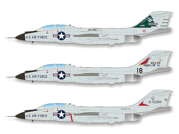 F101B Voodoo (Air National Guard) Part 1 (REPRINT)  CD48010