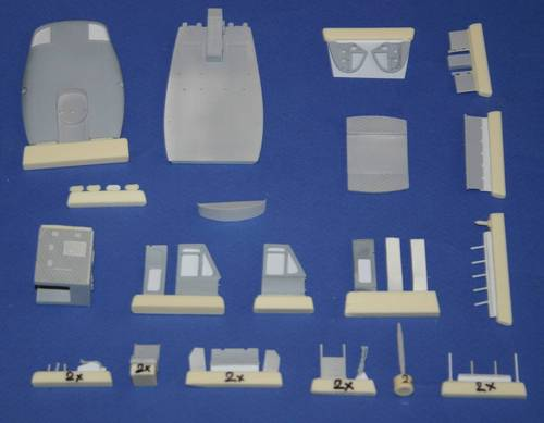 Bell UH1D Interior set (Italeri/ESCI)  4199