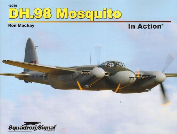 DH98 Mosquito in Action  9780897478519
