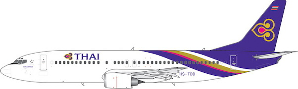 B737-400 (Thai Airways) HS-TDD  11512