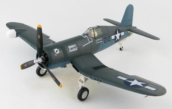 "-532 Hobby Master HA8220,F4U-2 Corsair /""Midnite Cocktail/"" VMF N USMC Saipan,"