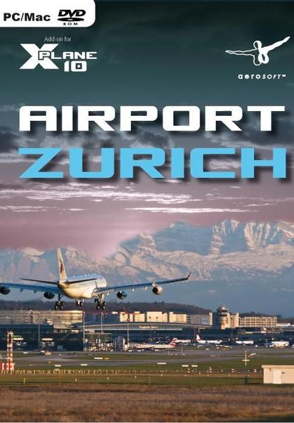 Airport Zurich (Add-on for XPlane10)  4015918121750