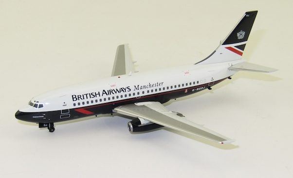 B737-200 (British Airways Manchester