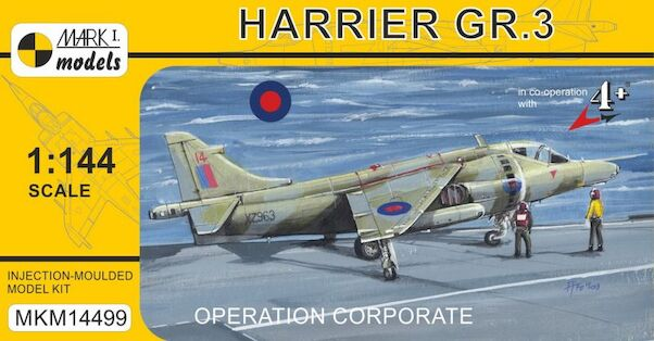Harrier GR.3 'Operation Corporate, Falkland Conflict'  MKM14499
