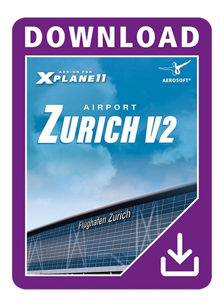 Airport Zurich XP v2.0 (Download Version)  AS13784 -D