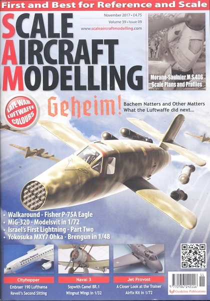Scale Aircraft Modelling Vol.39 Issue 09 November 2017  977095614211611