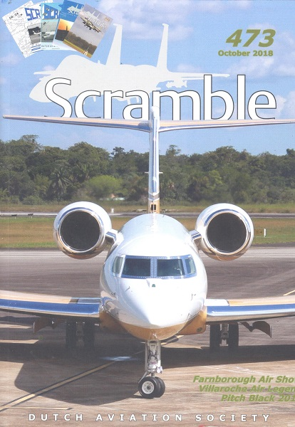 Scramble Magazine 473 October 2018  SCRAMBLE 473