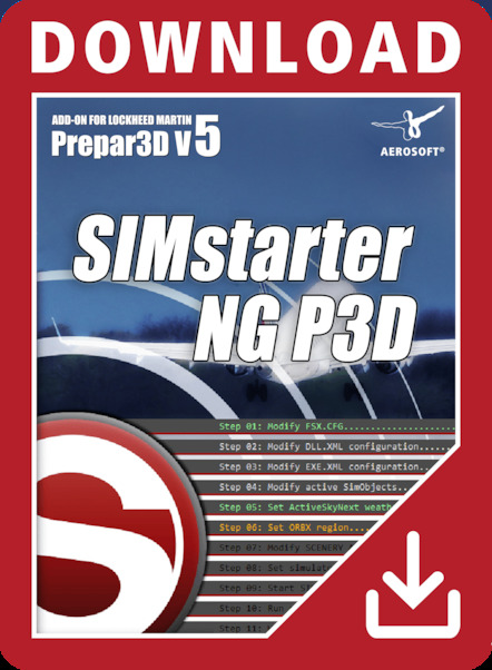 SIMstarter NG P3D (download version)  14990-D