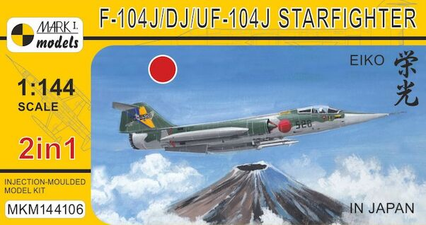 Lockheed F-104J/DJ Starfighter 'Eiko In Japan' (2in1)  MKM144106