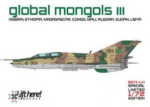 Global Mongols part III MiG-21US/UM around the world  904LH