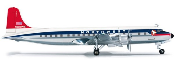 DC6B (Northwest Orient Airlines) (Herpa Wings 555555)