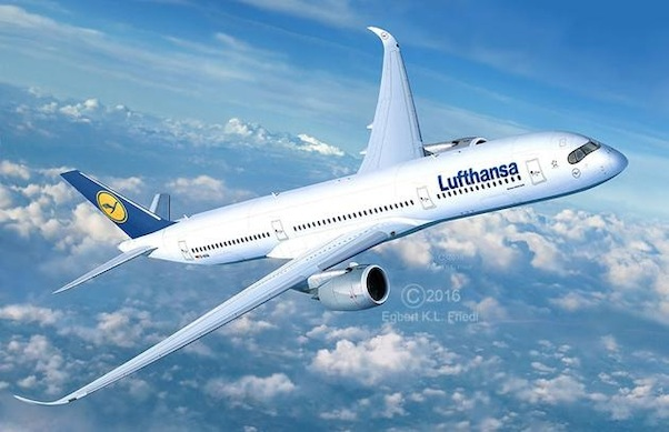 Airbus A350-900 (Lufthansa) SPECIAL OFFER - WAS EURO 24,95)  03938
