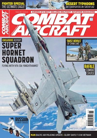 Combat Aircraft Volume 20 Number 6 June 2019 (Key Publishing 007447094389106)