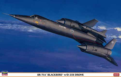 SR71A Blackbird with D21B Drone  2402041