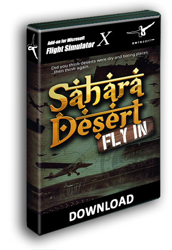 Sahara Desert Fly-In (download version)  12897-D