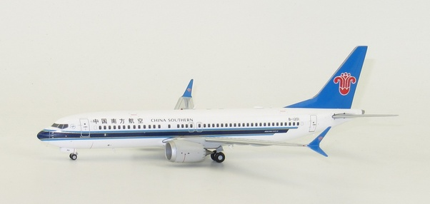 B737-8MAX (China Southern) B-1201 With Stand  LH2194