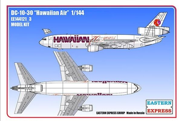 McDonnell Douglas DC10-30 (Hawaiian Air)  144121-3