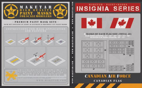 Canadian Air Force Flags (48)  MM32027