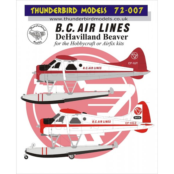 DHC2 Beaver (BC Airlines)  TM72-007