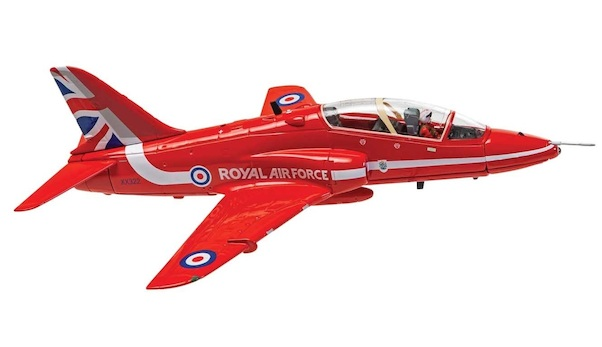 British Aerospace Hawk T1 XX322 Royal Air Force Aerobatic Team,