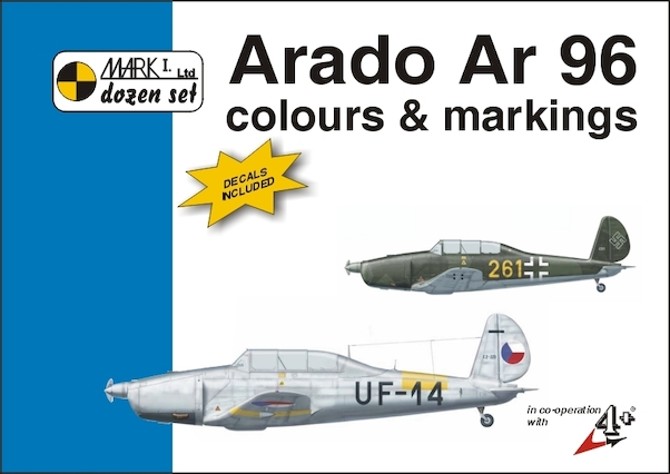 Arado AR96 Colours & Markings + decals  9788086637105