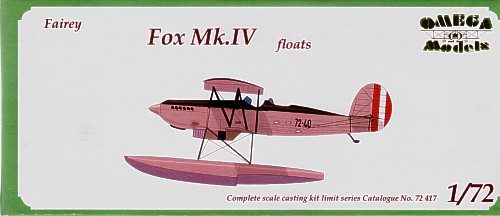 Fairey Fox MKIV (Peru)  72417