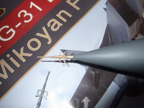 Mikoyan MiG31 Foxhound Pitot Tube  MD4821