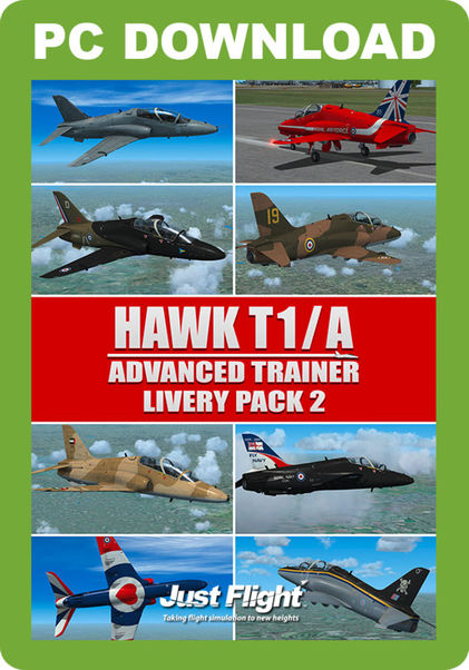 Hawk T1/A Advanced trainer/ Livery Pack 2 (download version)  HAWKLP2