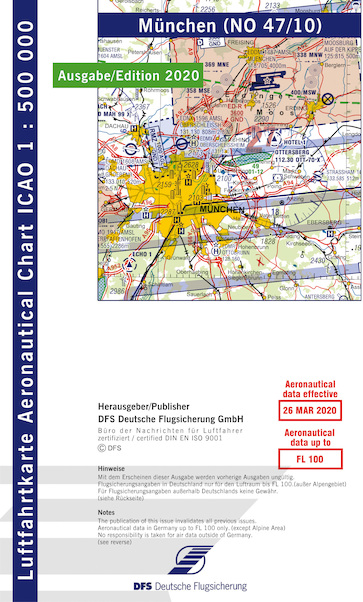ICAO chart Germany München 2020  47-10