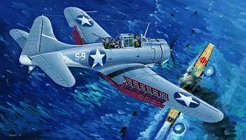 Douglas SBD3 Dauntless Midway (Clear Edition)  TR02244