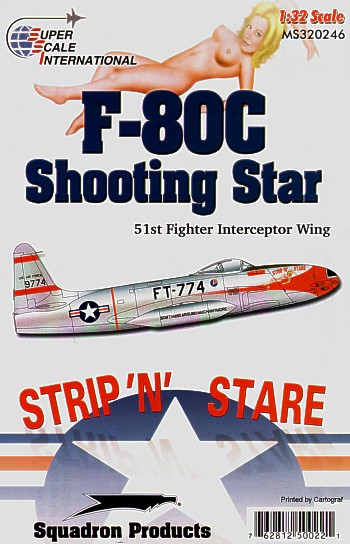 32-246 F80C Shooting Star (51FIS, strip 'n stare)  32-246