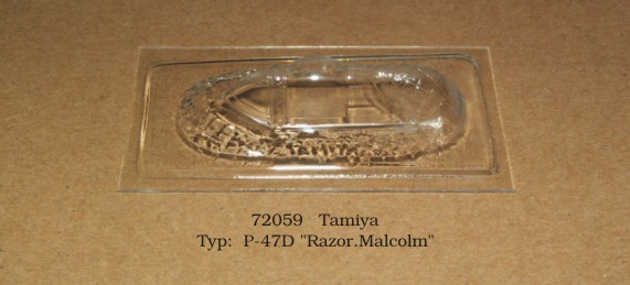 Canopy Republic P47D Bubbletop (Tamiya)  rt72059